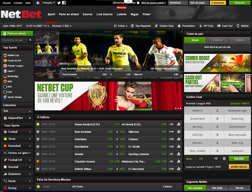 screenshot netbet