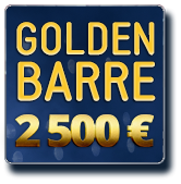 Golden Barre 2 500 €